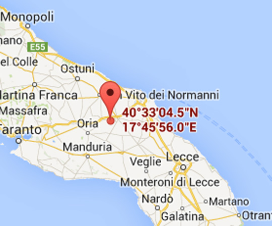 Map Of Italy Puglia Region.Pizzorusso Vacation Rental Home Near Mesagne Puglia Italy Luci