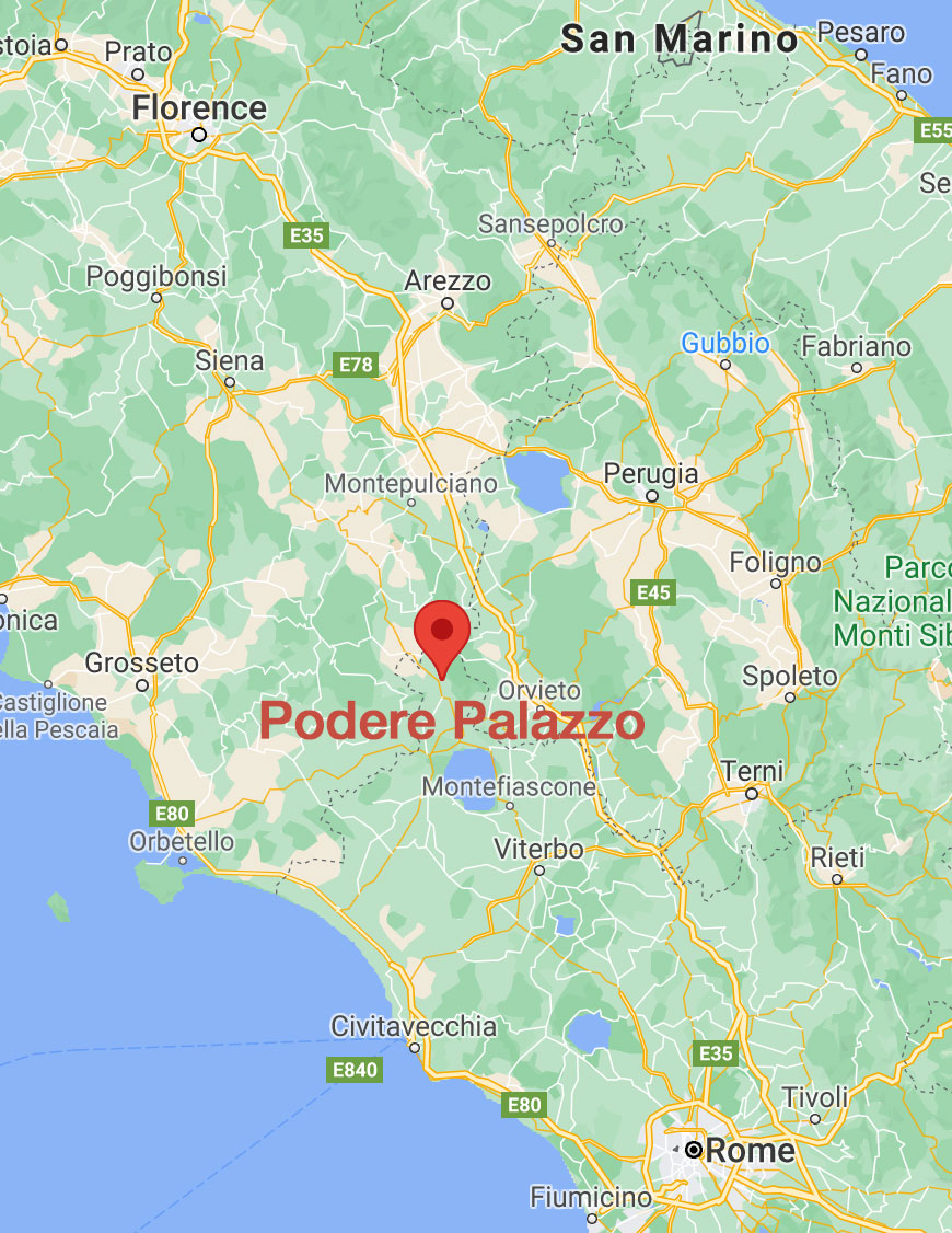 Podere Palazzo Vacation Rental Home near S Casciano d Bagni